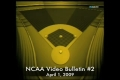 2009 NCAA Baseball Video Bulletin 2